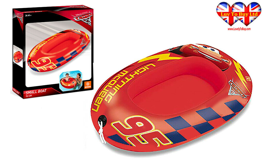 DisneyPixar-Car-ChildrenKids-Inflatable-Boat
