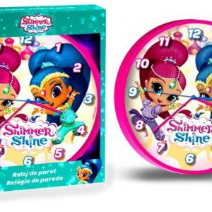 Shimmer & Shine Wall Clock