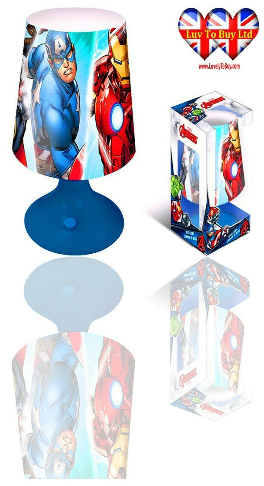 • Avenger Table/Desk Lamp,Bedroom,Bedside Lamp Night Light,Official Licenced eBay Premium Service