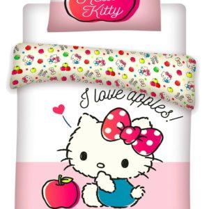 • Kids Duvet Set,Hello Kitty,TODDLER Bed Duvet Cover Set